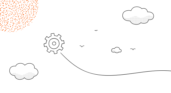 An illustration of gear objects