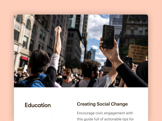 Creating Social Change: A Free Training Resource